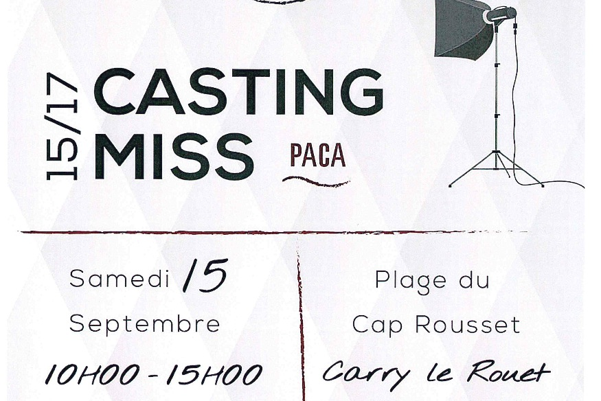Carry : casting Miss Paca 15-17 ans !